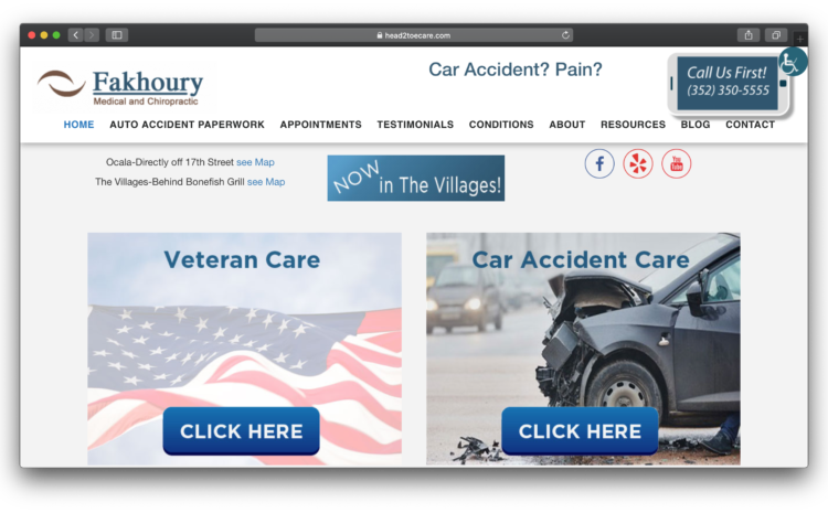 Fakhoury Medical and Chiropractic Site
