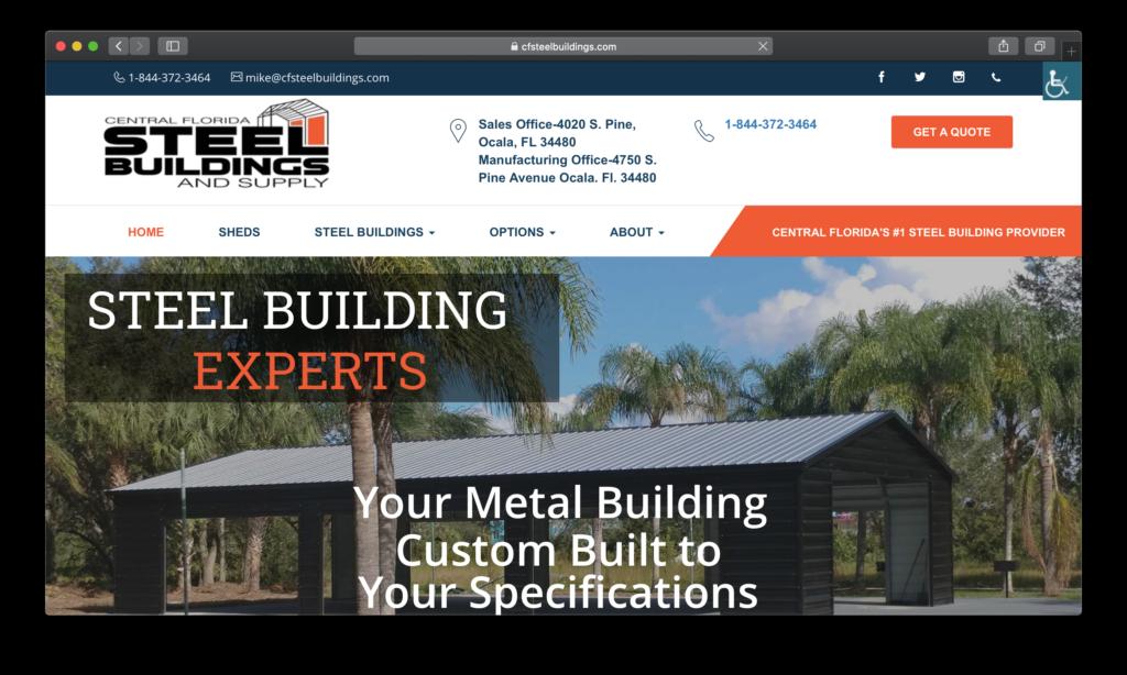 CF Steel Buildings Site