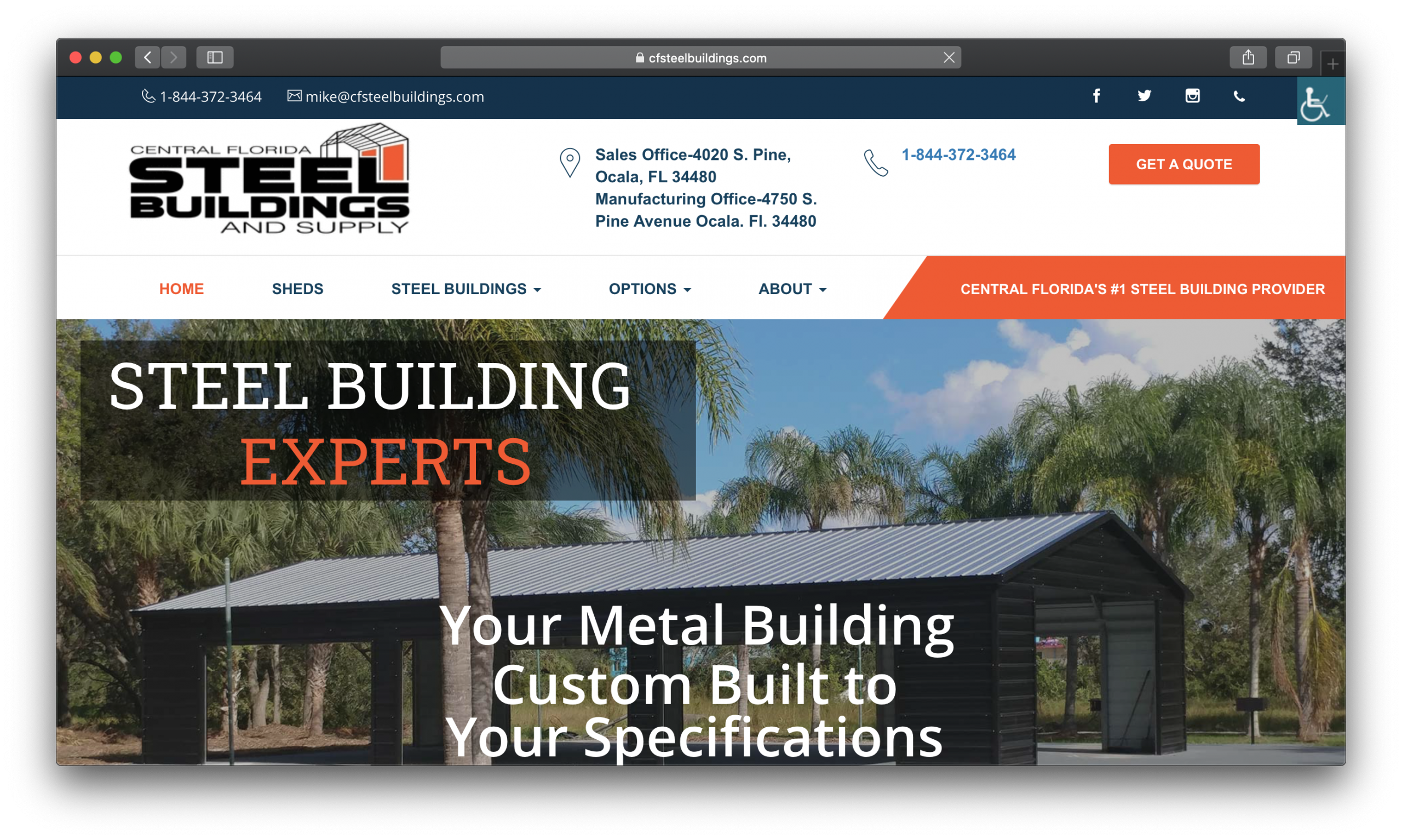 Central Florida Steel Buildings and Supply