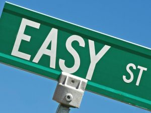 easy street marketing road sign