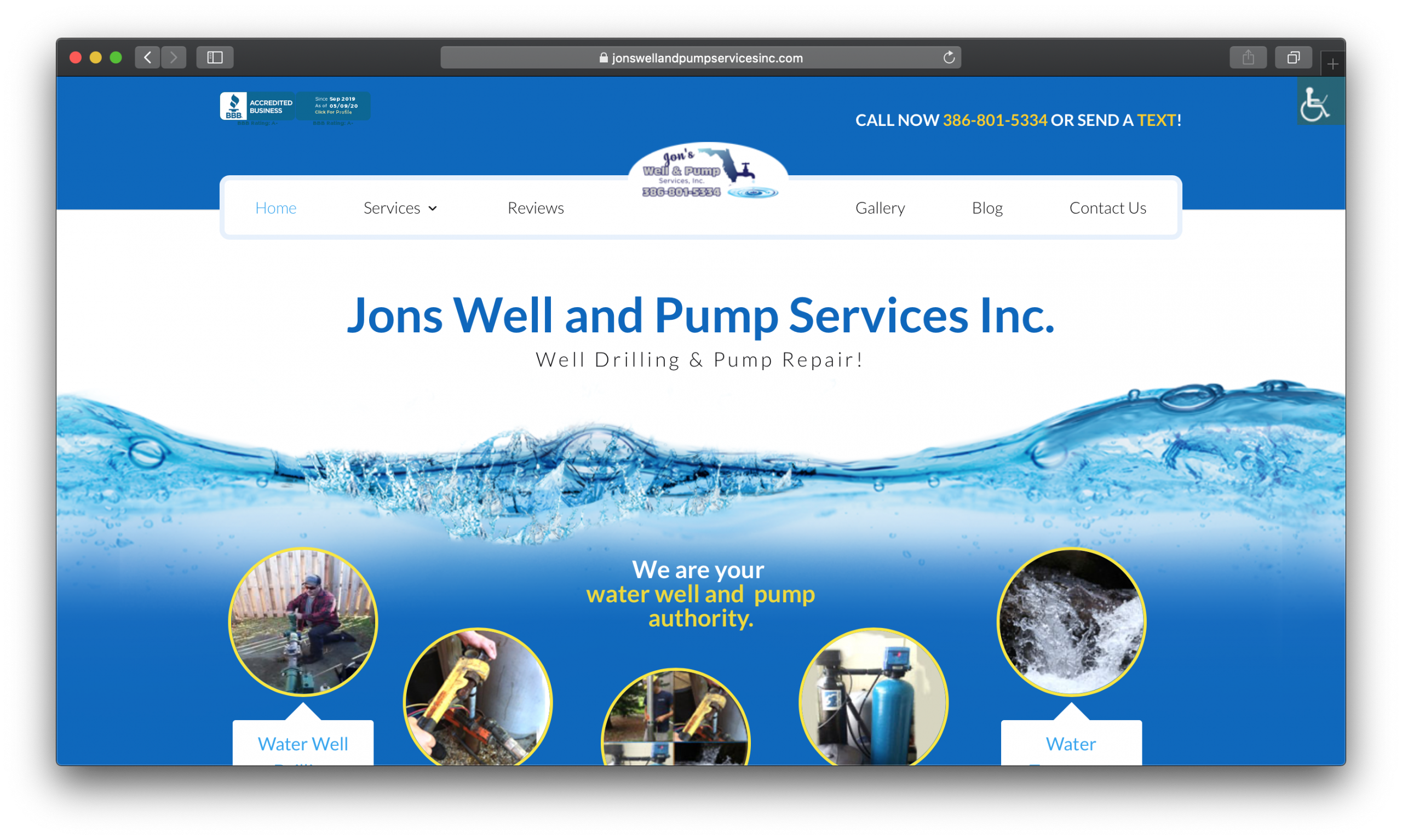 Jon's Well and Pump Services Inc.