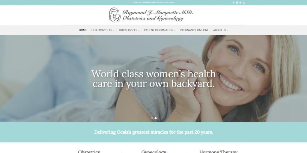 Gynecologist in Ocala FL Dr Raymond J Marquette M D OBGYN 1